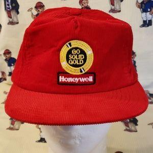 vintage honey well  corduro hat